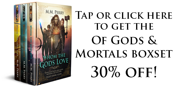 Tap or click here to get the Of Gods & Mortals collection 30% off!